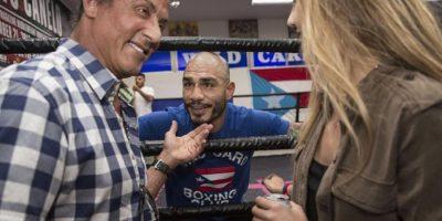 7. Sylvester Stallone es otro de sus amigos Foto:Vía instagram.com/realmiguelacotto
