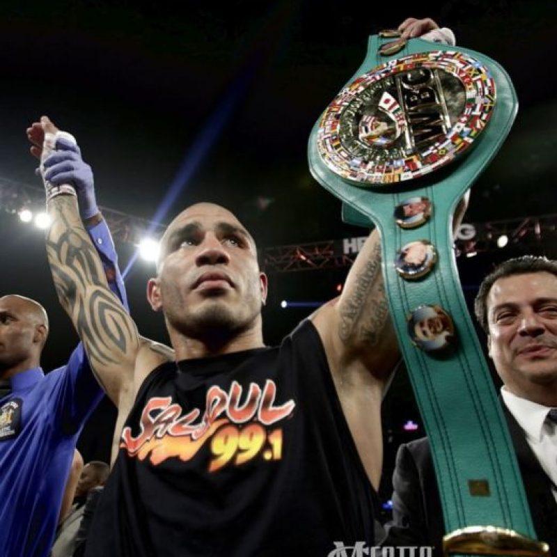 2. Cotto tiene un récord de 40 victorias y cuatro derrotas Foto:Getty Images
