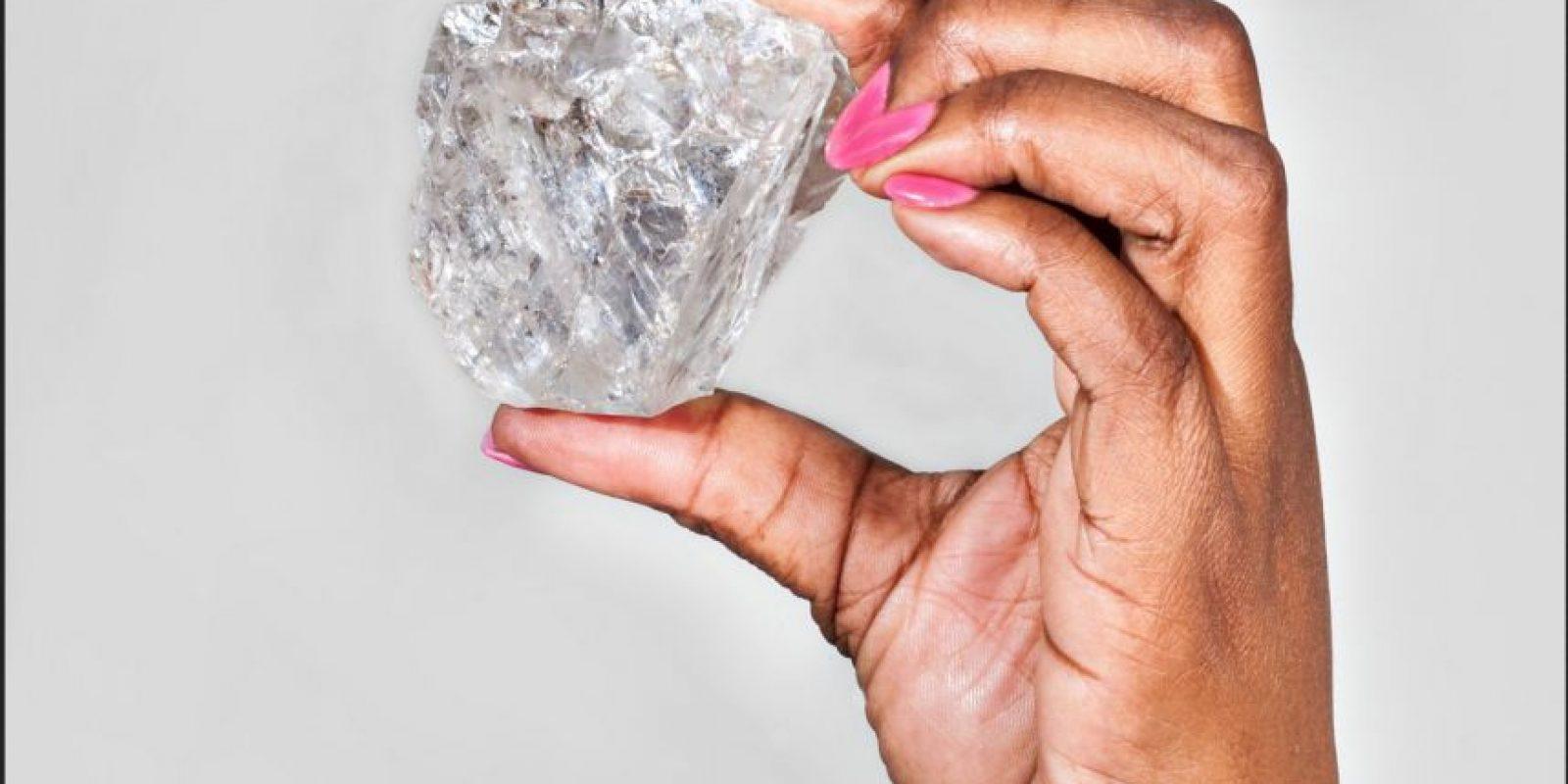 Se cree que luego de trabajarlo se podría producir el diamante más puro en el mundo. Foto:Vía lucaradiamond.com