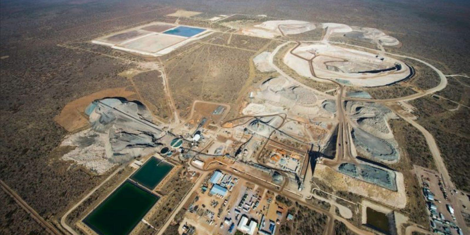 En esta ocasión fue en la mina Karowe Foto:Vía facebook.com/LucaraDiamondCorporation