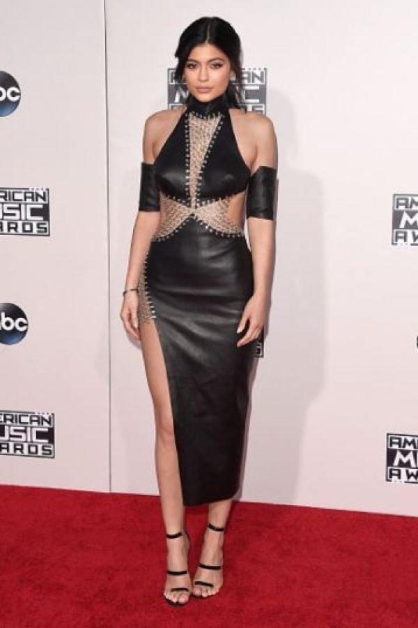 Kylie también fue halagada por su atrevido atuendo. Foto:Getty Images