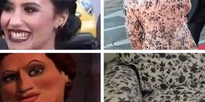 El vestuario de Harry Styles y la apariencia de Demi Lovato Foto:Vía Twitter