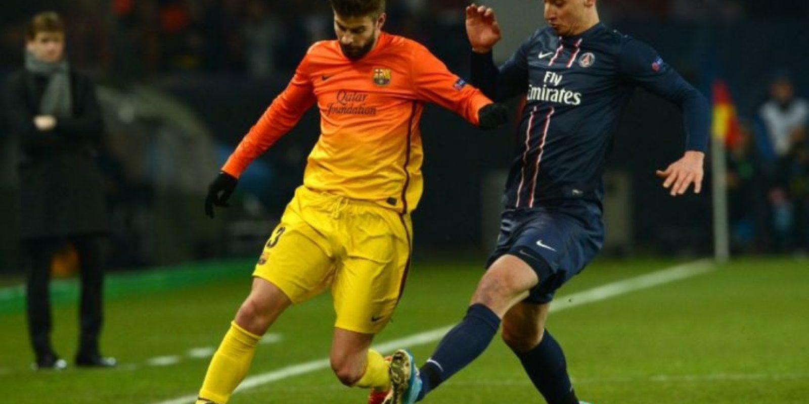 En agosto de 2010 se confirmó la salida de Zlatan del Barça Foto:Getty Images