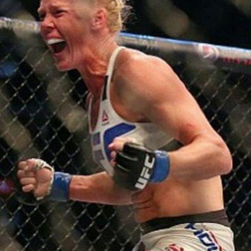 """7. """"A mí sus comentarios previos a la pelea no me influyeron. No me importan, siempre querré pegarle así de fuerte y siempre querré noquearla"""". Foto:Getty Images"""
