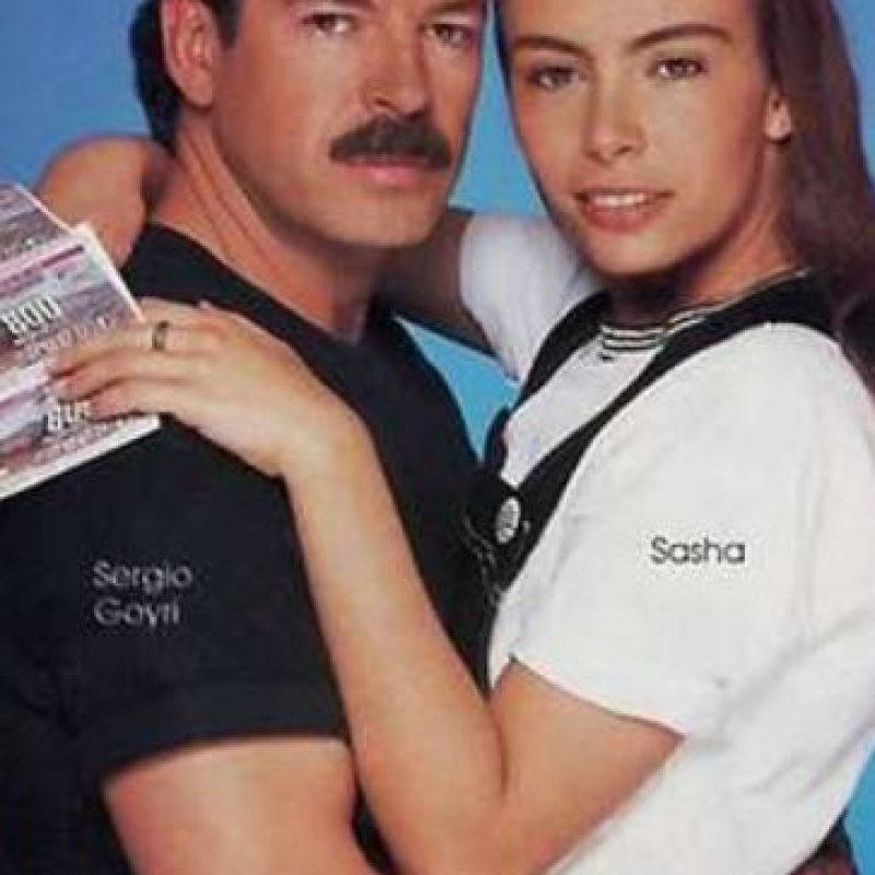 "Sergio Goyri era ""Jorge Domensain"". Foto:vía Televisa"