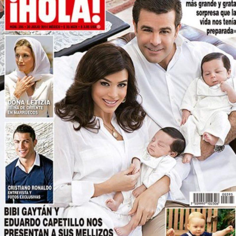 Está casado con Bibi Gaytán y tiene 5 hijos. Foto:vía Hola