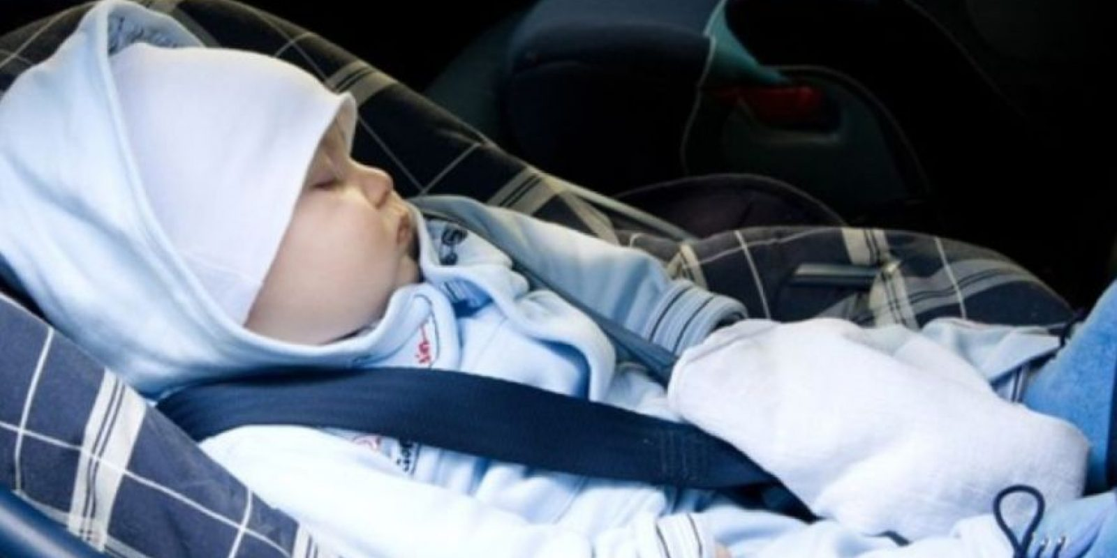 3. Podrían, en el apuro, olvidar las llaves del auto dentro, junto con su hijo. Foto:VíaTumblr