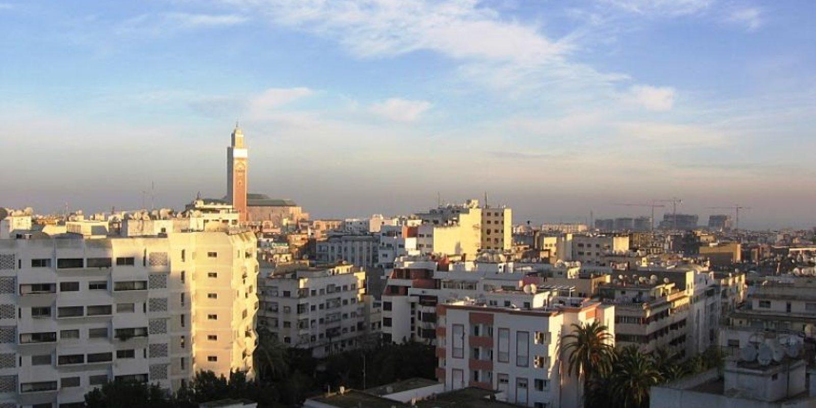 2. Casablanca, Marruecos (Ocupa el lugar 34) Foto:Vía Wikimedia Commons