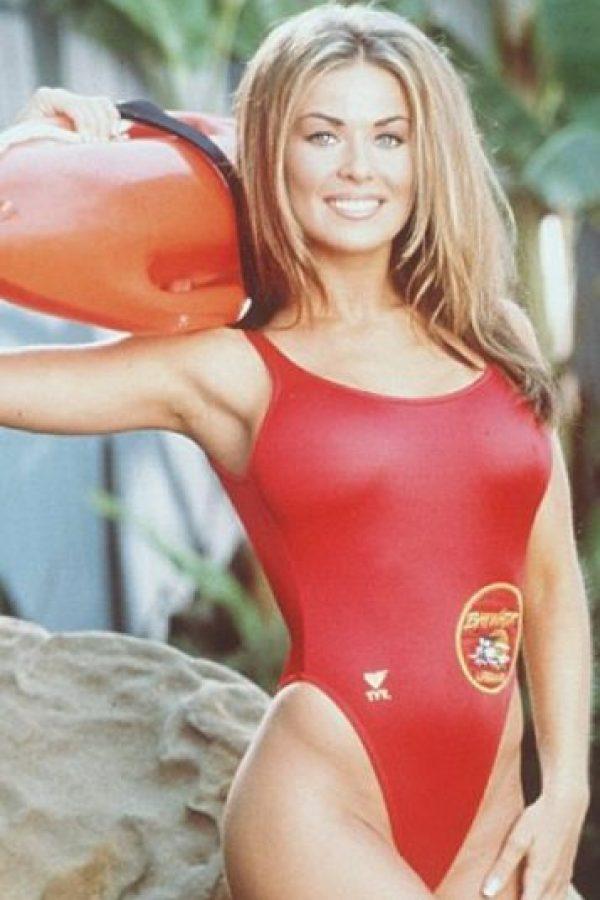 Una de las más sensuales actrices de Baywatch. Foto:vía NBC