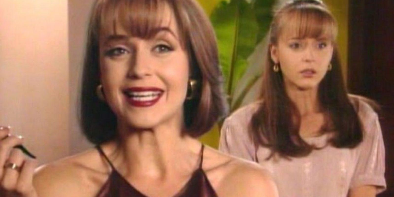 """Además, su rostro de corderito asustado quedaba devorado ante """"Paola"""". Foto:vía Canal de las Estrellas"""