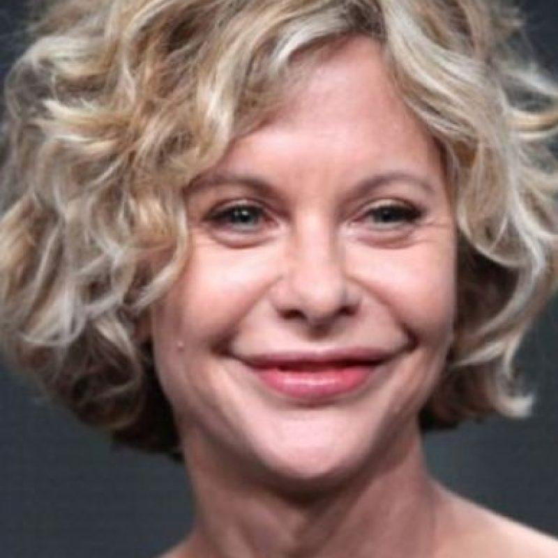 9. Meg Ryanactualmente luce irreconocible a causa del exceso de botox. Foto:Getty Images