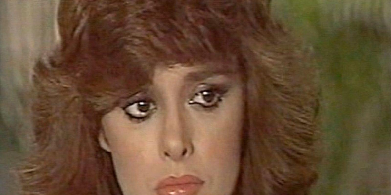"""Luego estuvo en """"Vanessa"""". En 1984, el Museo de Cera de Hollywood le da la oportunidad de tener su figura allí. Foto:vía Tumblr"""