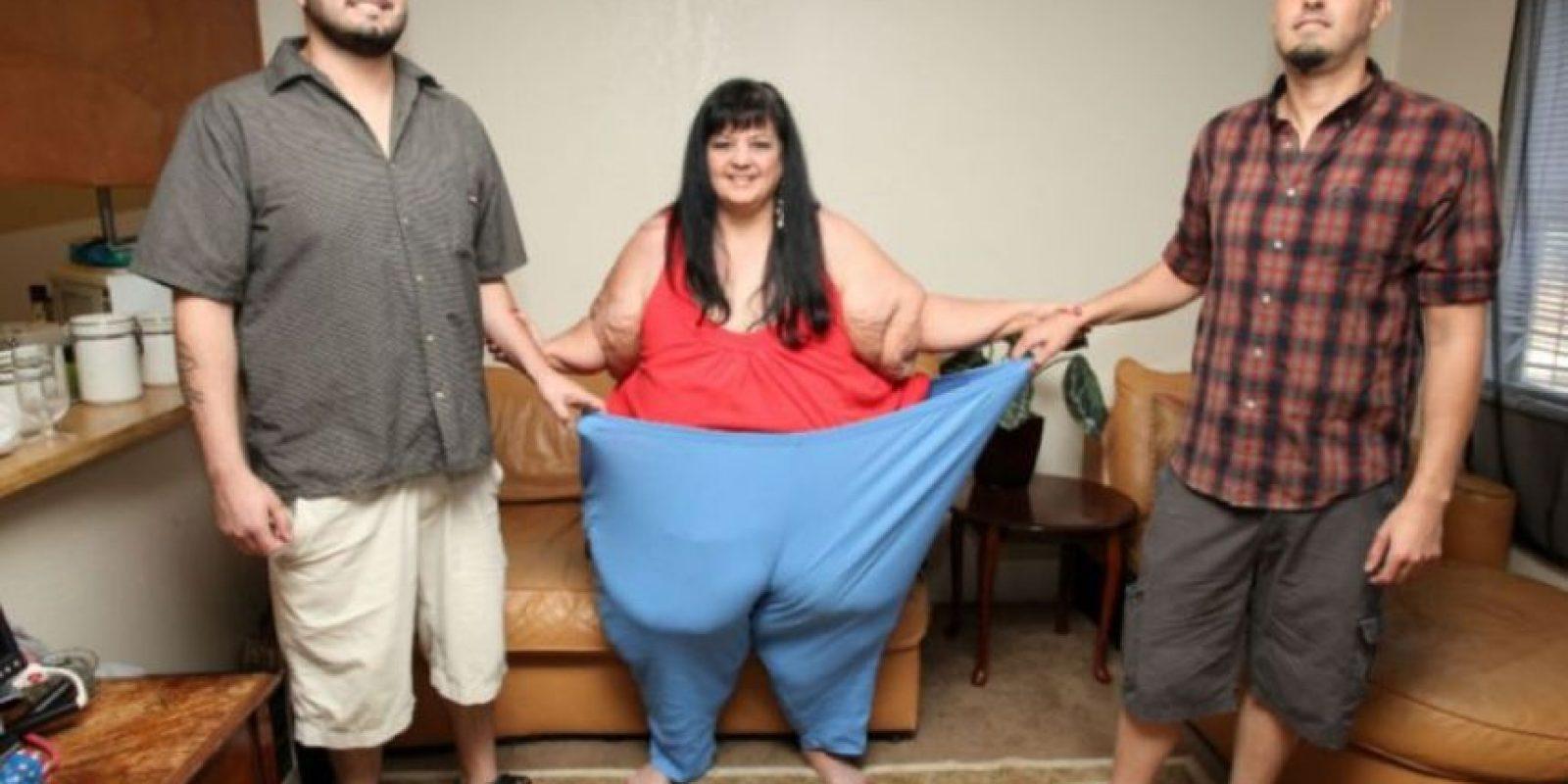 Miren todo el peso que ha perdido. Foto:Vía Barcroft Media