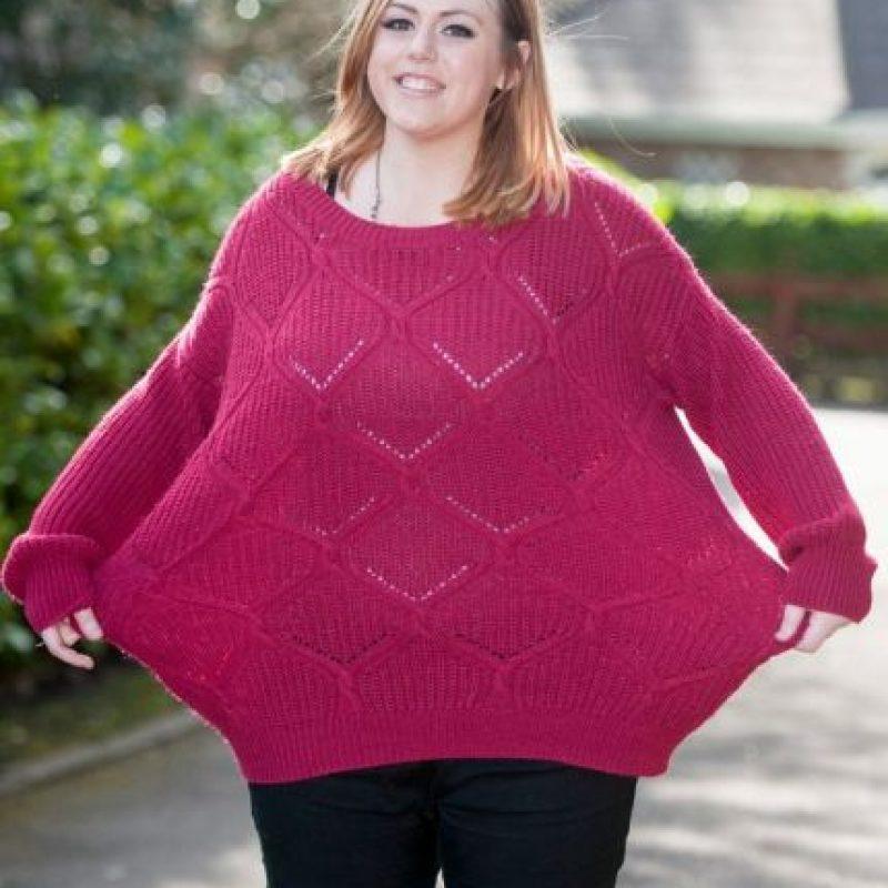 Luego de enterarse, Amy dejó a su novio y comenzó a bajar de peso. Foto:Vía Facebook