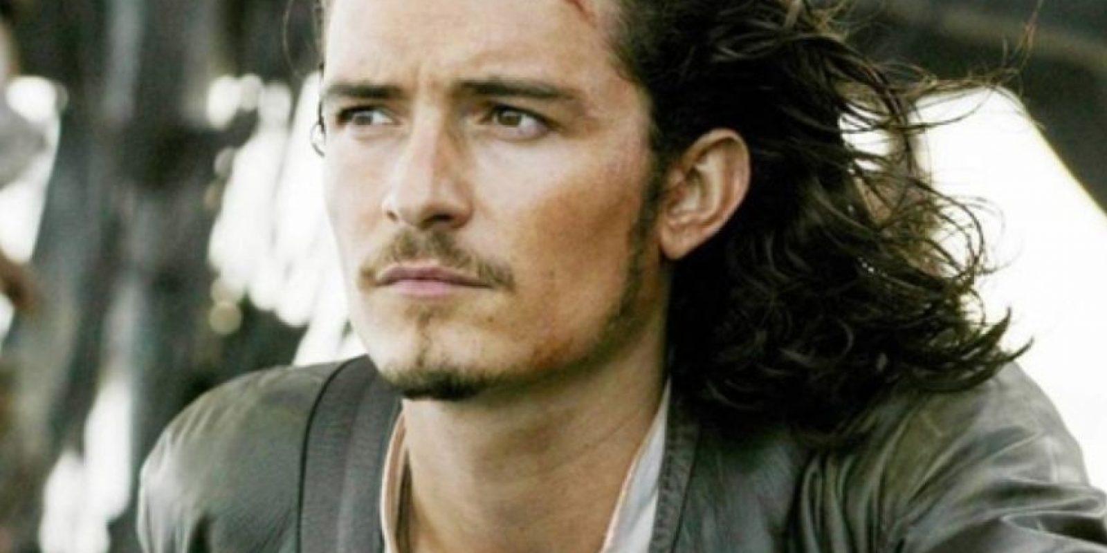 """Luego siguió con """"Will Turner"""" en """"Piratas del Caribe"""". Foto:vía Disney"""