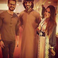 1. Pero ¿qué les parece esta foto con la modelo de Emiratos Árabes, Rafeea Alhajsi? Foto:Vía Instagram/omarborkan