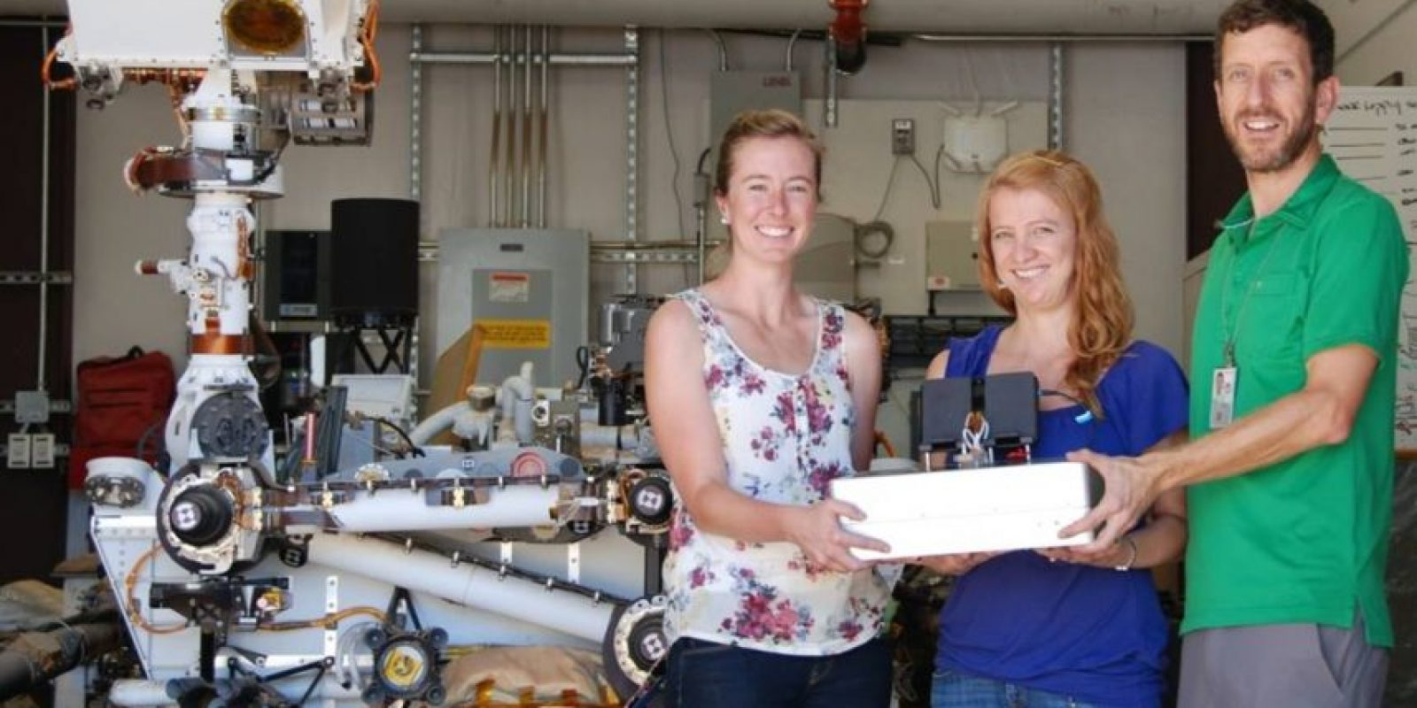 La computadora fue creada en el Laboratorio de Propulsión Jet de la NASA en California. Foto:Vía Nasa.gov