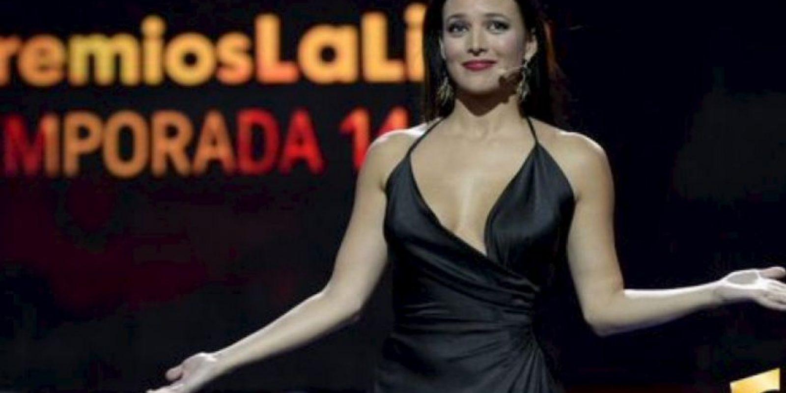La actriz fue la presentadora del evento Foto:La Liga