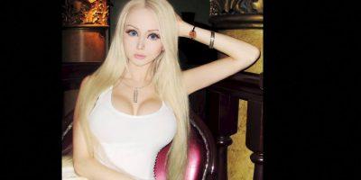 Ya de sobra es conocida Valeria Lukyanova. Foto:vía Facebook/Valeria Lyukanova