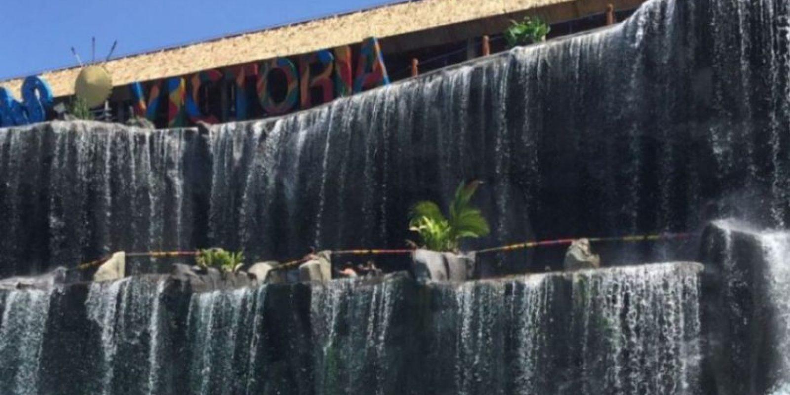 Las Cataratas Victoria son la última atracción que se instaló en el Parque. Foto:Publimetro Colombia