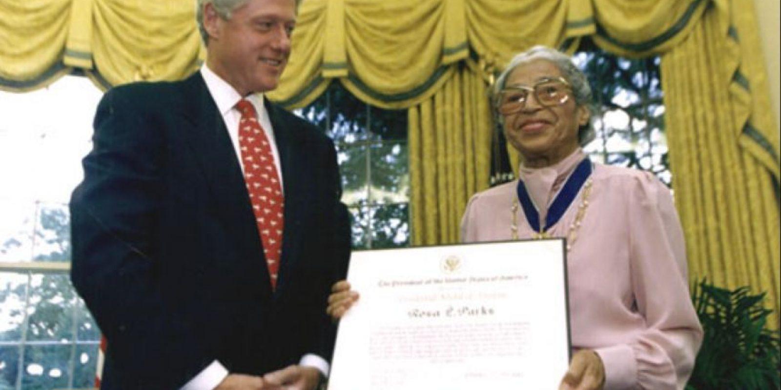 9. Rosa Parks (7 por ciento) Foto:Wikipedia.org