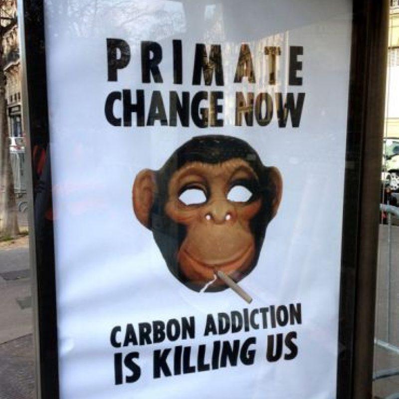 La India ha pedido 206 mil millones de dólares entre 2015 y 2030 para reducir entre un 33 % y 35% sus emisiones en comparación con el año 2005. Foto:Vía brandalism.org.uk