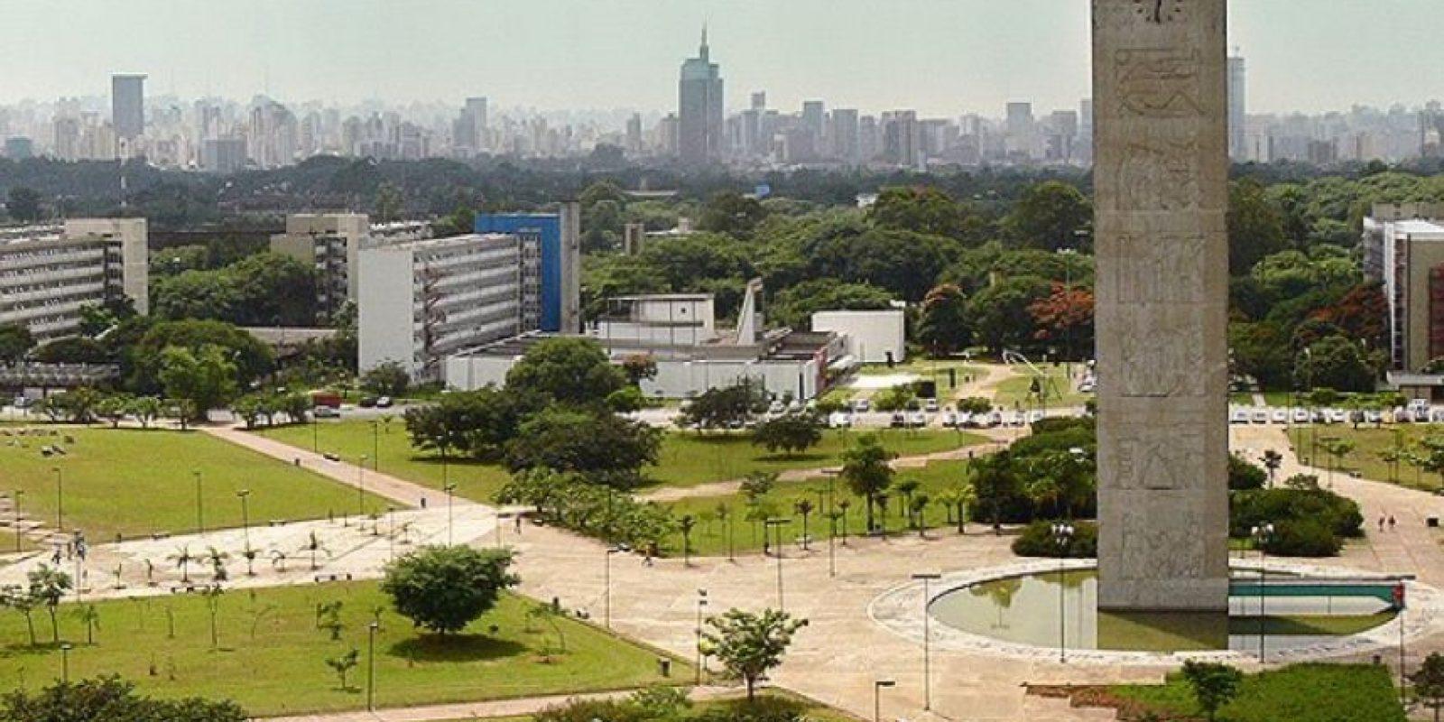 1. Universidad de Sao Paulo en Brasil Foto:Vía Facebook.com/usponline