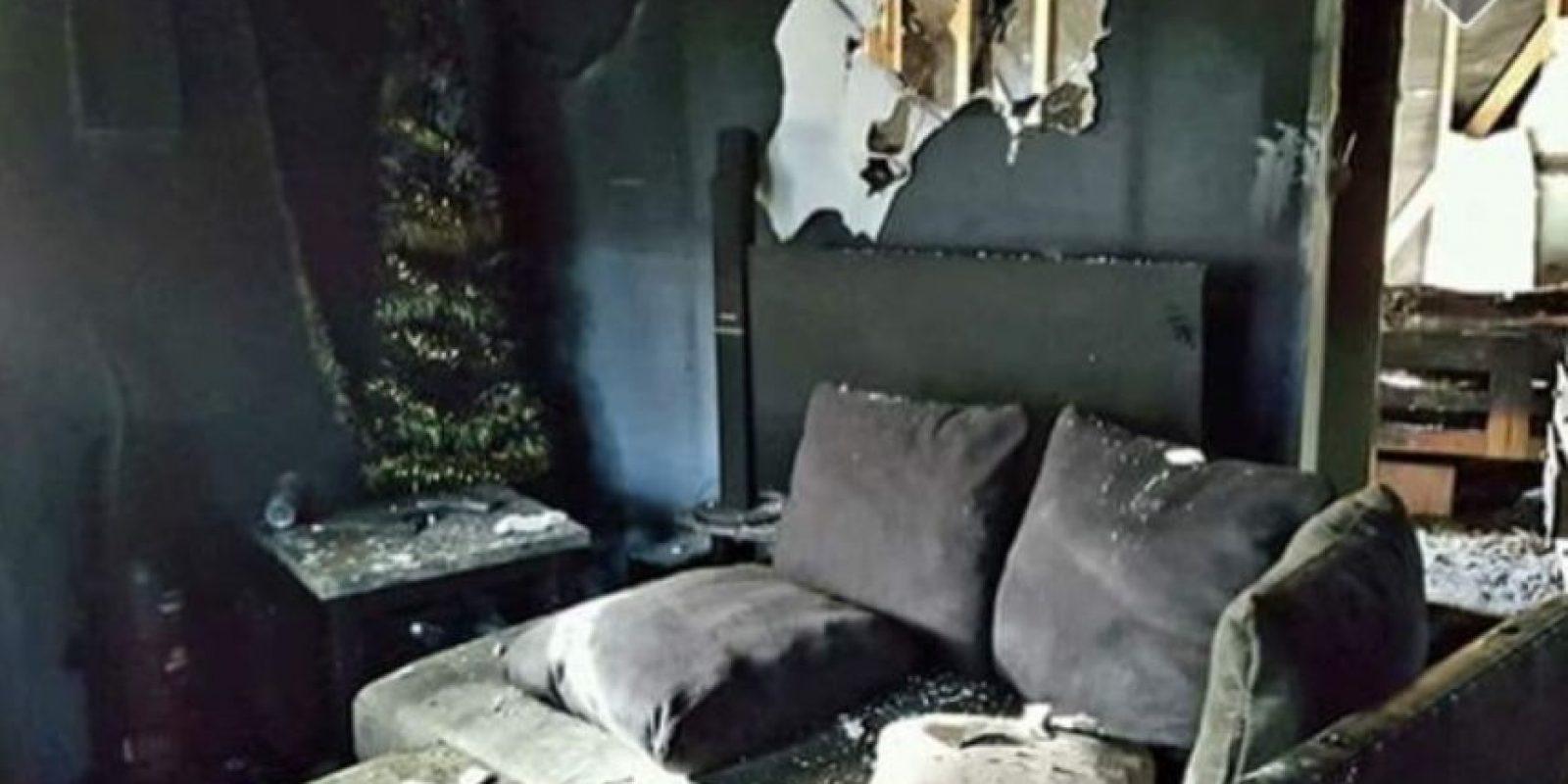 Jessica Horne, a creado una cuenta en GoFund Me para recaudar dinero para los daños. Foto:Vía gofundme.com/n7bnd7jw