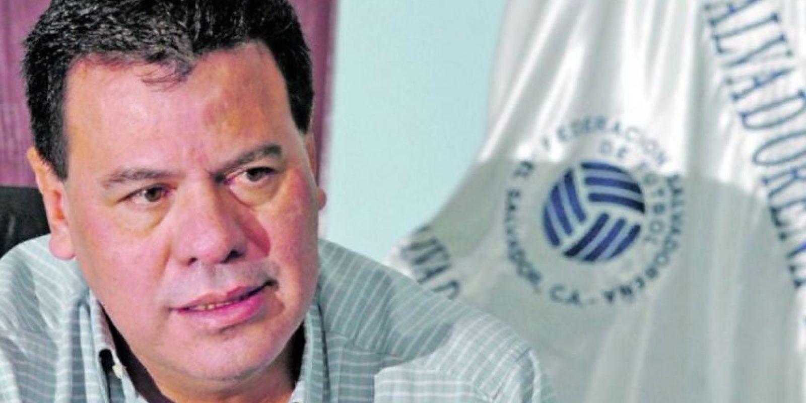 Reinaldo Vazquez. Salvadoreño, ex presidente de la Comisión Normalizadora de la Federación Salvadoreña de Fútbol durante 2009 y 2010. Foto:Getty Images