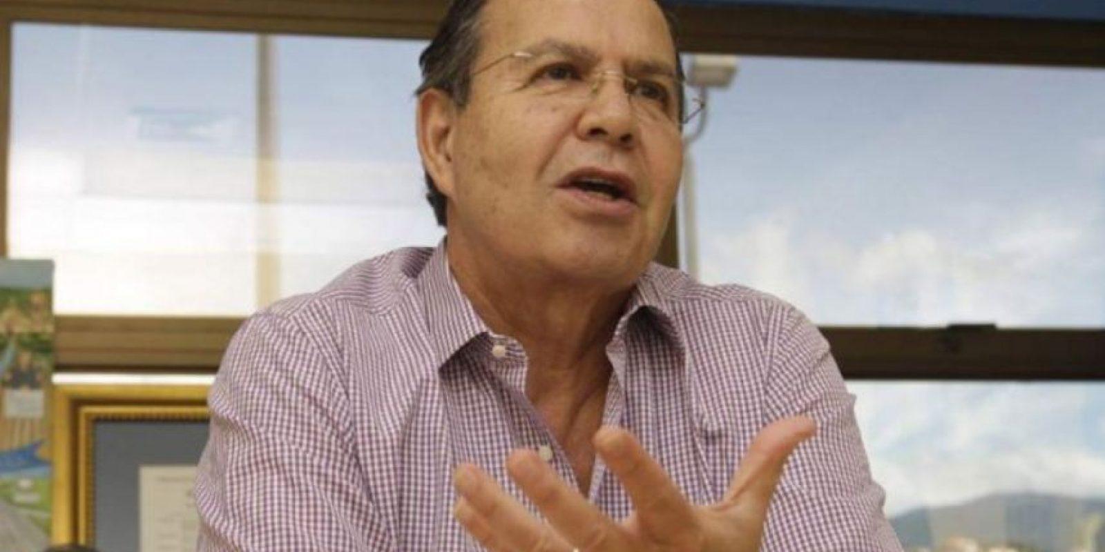 Rafael Callejas. Hondureño, expresidente de Honduras que gobernó el país entre 1990 y 1994 y ex presidente de La Federación Nacional Autónoma de Fútbol de Honduras (Fenafuth) Foto:Getty Images