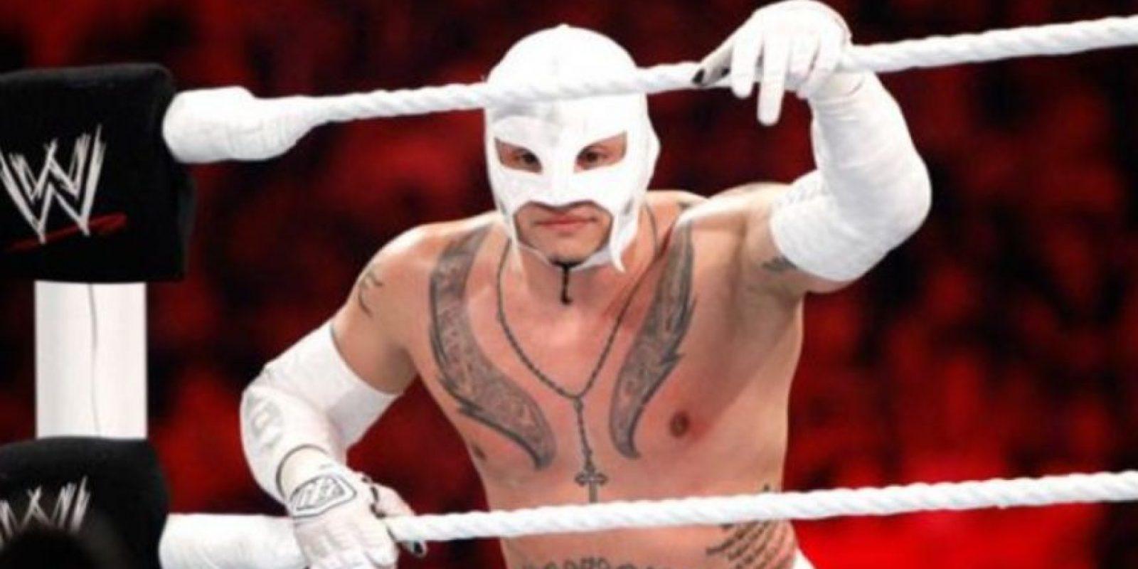 7. Rey Mysterio. El 25 de julio de 2011 ganó un torneo por el título, pero esa misma noche perdió con John Cena Foto:WWE