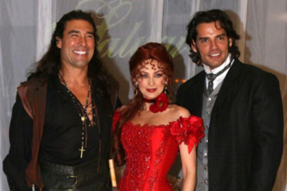 """Ahora está en """"Amores con Trampa"""", de Televisa. Foto:vía Televisa"""