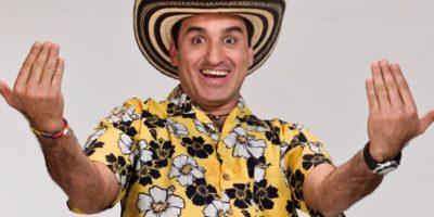 """Incluso hizo un """"stand up comedy"""" con este personaje. Foto:vía Caracol Televisión"""