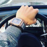 Este fue el reloj que presumió en las redes y después le robaron Foto:Vía instagram.com/mauroicardi