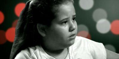 Lannes tiene ahora 15 años. Bajó mucho de peso desde entonces. Foto:vía Globo