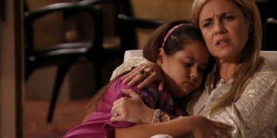 Ella fue interpretada por Anna Karolina Lanes, cuya historia también es dramática. Foto:vía Globo