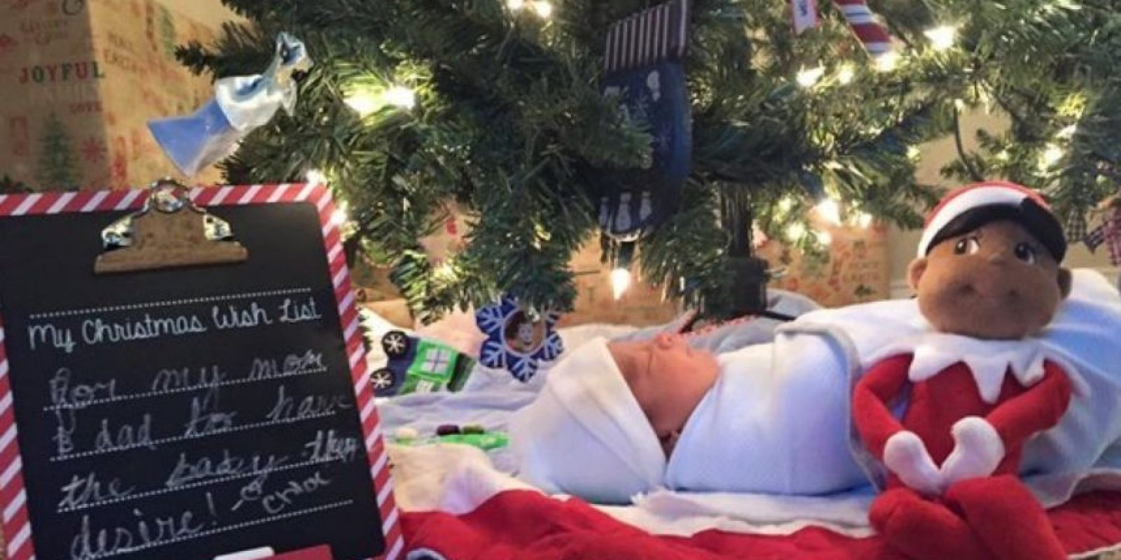 """Él se llama Nathan. Y fue el """"regalo de Navidad"""" para sus hermanas. Foto: vía Facebook/Court4jc"""