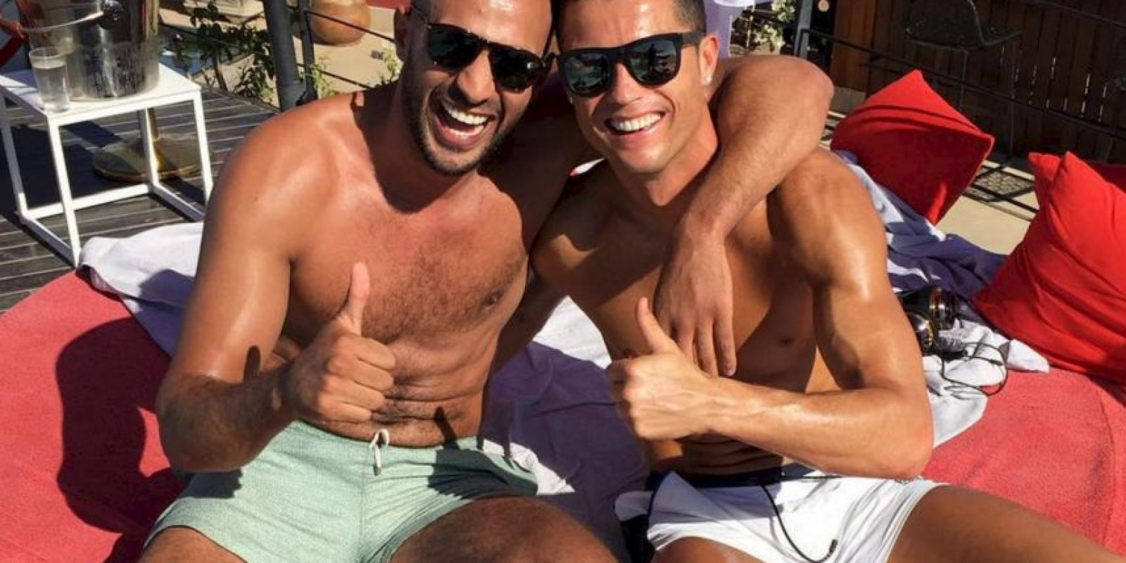 Badr Hari es un amigo íntimo de Cristiano Ronaldo. Foto:Vía instagram.com/badrhariofficial