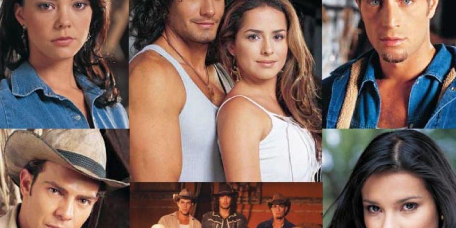 En la telenovela original los actores vendieron sobre todo por su físico. Foto:vía Caracol Televisión/Telemundo