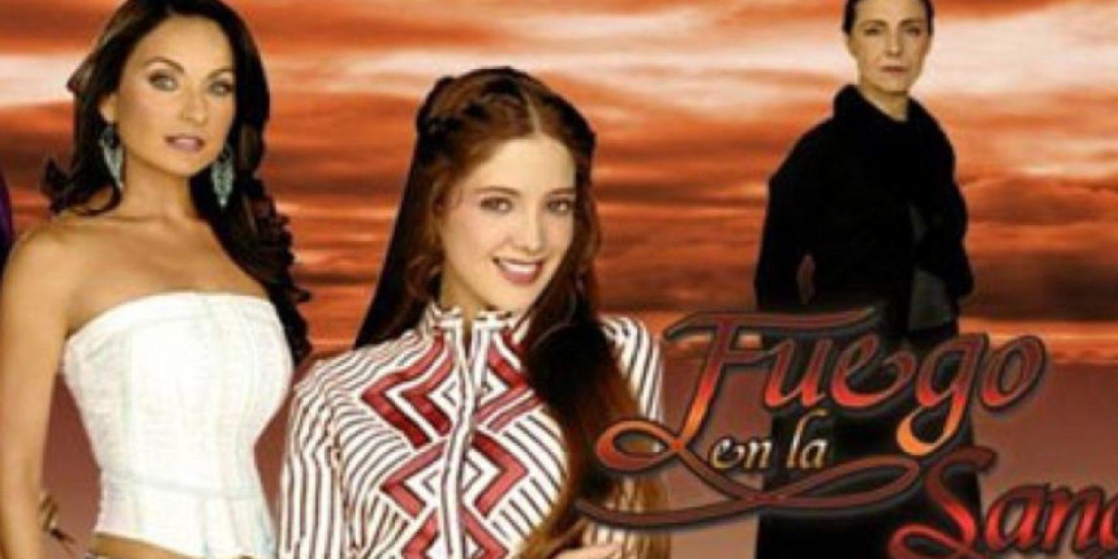 Nadie se creía a Adela Noriega en ese papel, aún virgen, ya siendo una mujer madura. Foto:vía Televisa