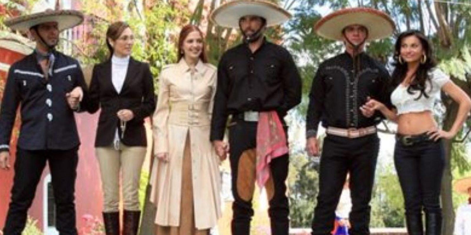 """En 2008 hicieron el remake con """"Fuego en la Sangre"""". Foto:vía Televisa"""