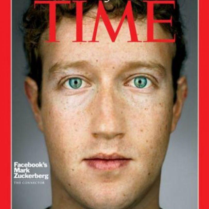 2010- Mark Zuckerberg, fundador de Facebook Foto:Vía Time