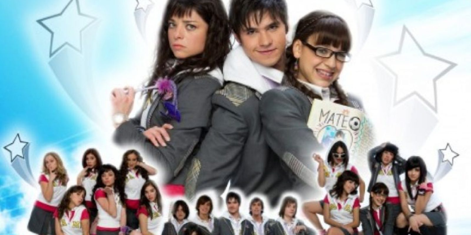 """Era el """"remake"""" de """"Patito Feo"""". Pero los personajes eran solo caricaturas. Foto:vía Televisa"""