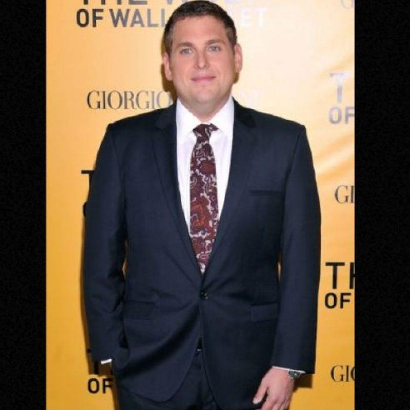 Pero Jonah bajó mucho de peso en 2011. Foto:vía Getty Images
