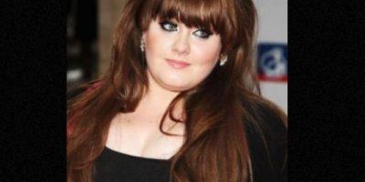 """Adele también se caracterizaba por ser una cantante """"plus size"""". Foto:vía Getty Images"""