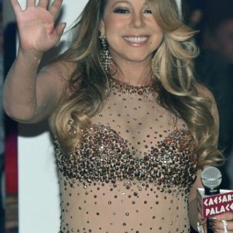 """Mariah Carey siempre ha sido """"rellenita"""". Foto:vía Getty Images"""