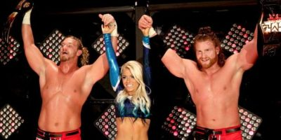Fueron campeones en parejas de la NXT, pero la llegada de The Vaudevillains y de los actuales monarcas Dash Wilder y Scott Dawson los opacó Foto:WWE
