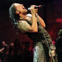 "Jonathan Davis, de ""Korn"". Foto:vía Getty Images"