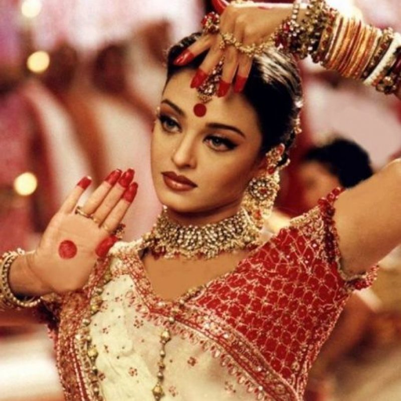 Aishwarya Rai es la estrella india de Bollywood y Hollywood más importante de la década de los 90 y 2000. Foto: vía Getty Images