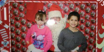 Una pequeña que sobrevivió a un incendio decidió que no quería juguetes para esta Navidad. Foto:Vía facebook.com/Schenectadyssupersurvivor